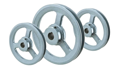 D-Section V-Belt Pulleys | D-Belt Pulleys