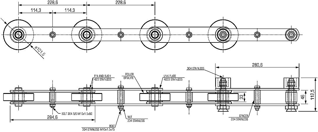 B6729 Chain