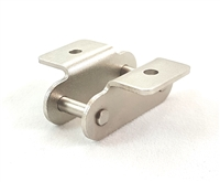 Pack of 5 1.84 Length 1-1//4 Pitch Senqcia Inspire Series C2052OL Offset Link for Double Pitch Large Roller Chain