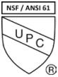 NSF/UPC Certified