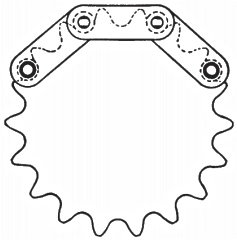 Double Pitch Sprockets | Double pitch roller chain sprockets