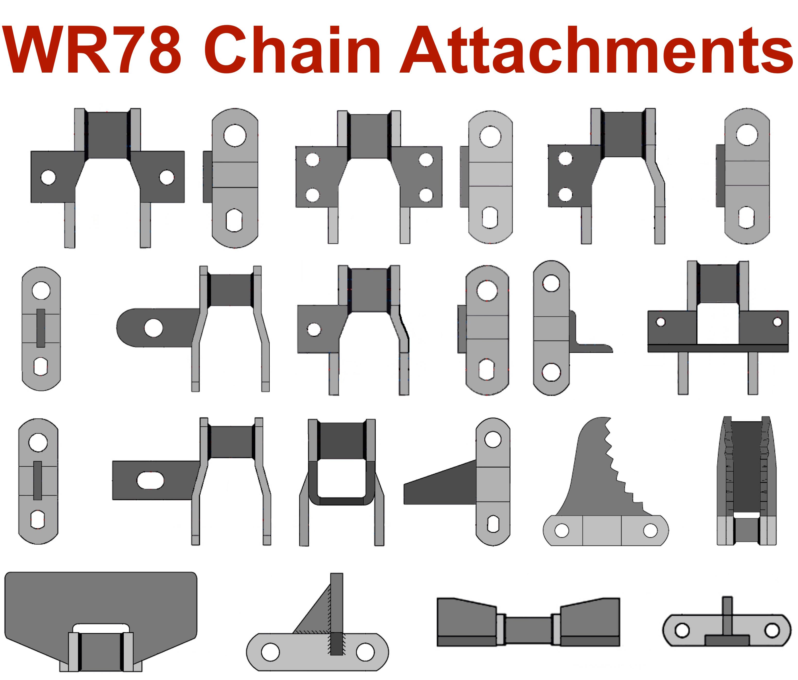 WR78 Chain | Welded Steel 2 609